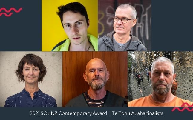 2021 SOUNZ Contemporary Award Te Tohu Auaha finalists - blog slides