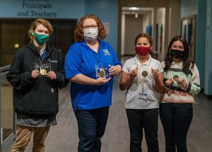 Dueitt Middle School Odyssey of the Mind team