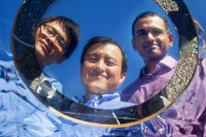 researchers Linxiao Zhu, Shanhui Fan, Aaswath Raman