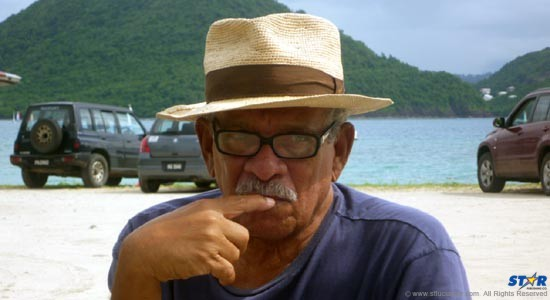 Derek Walcott: The 82-year-old Nobel Laureate remains as ever protective of Saint Lucia's heritage and a long time advocate for the arts.