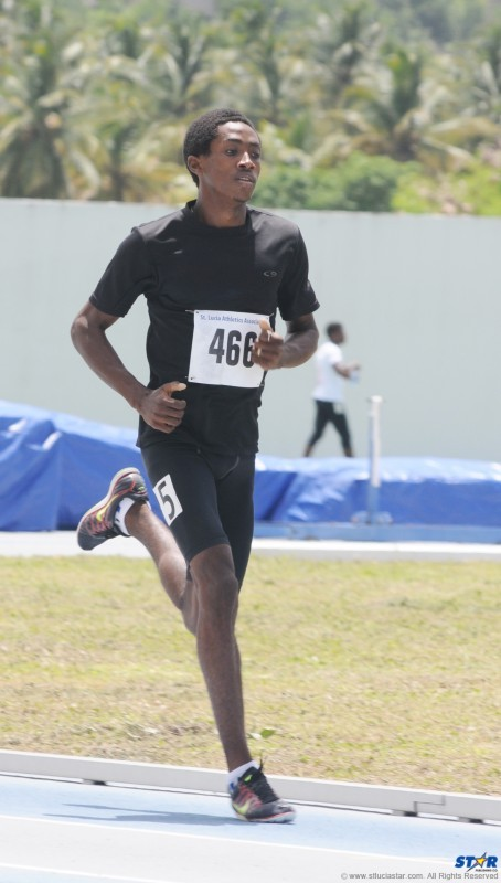 Marbeq Edgar placed first in the 1500 metres and second in the 800 metres.