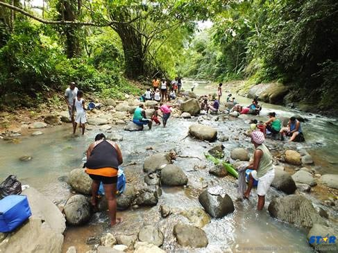 The days of free flowing, clean and clear Saint Lucian rivers are long gone, but evidently the killing continues.