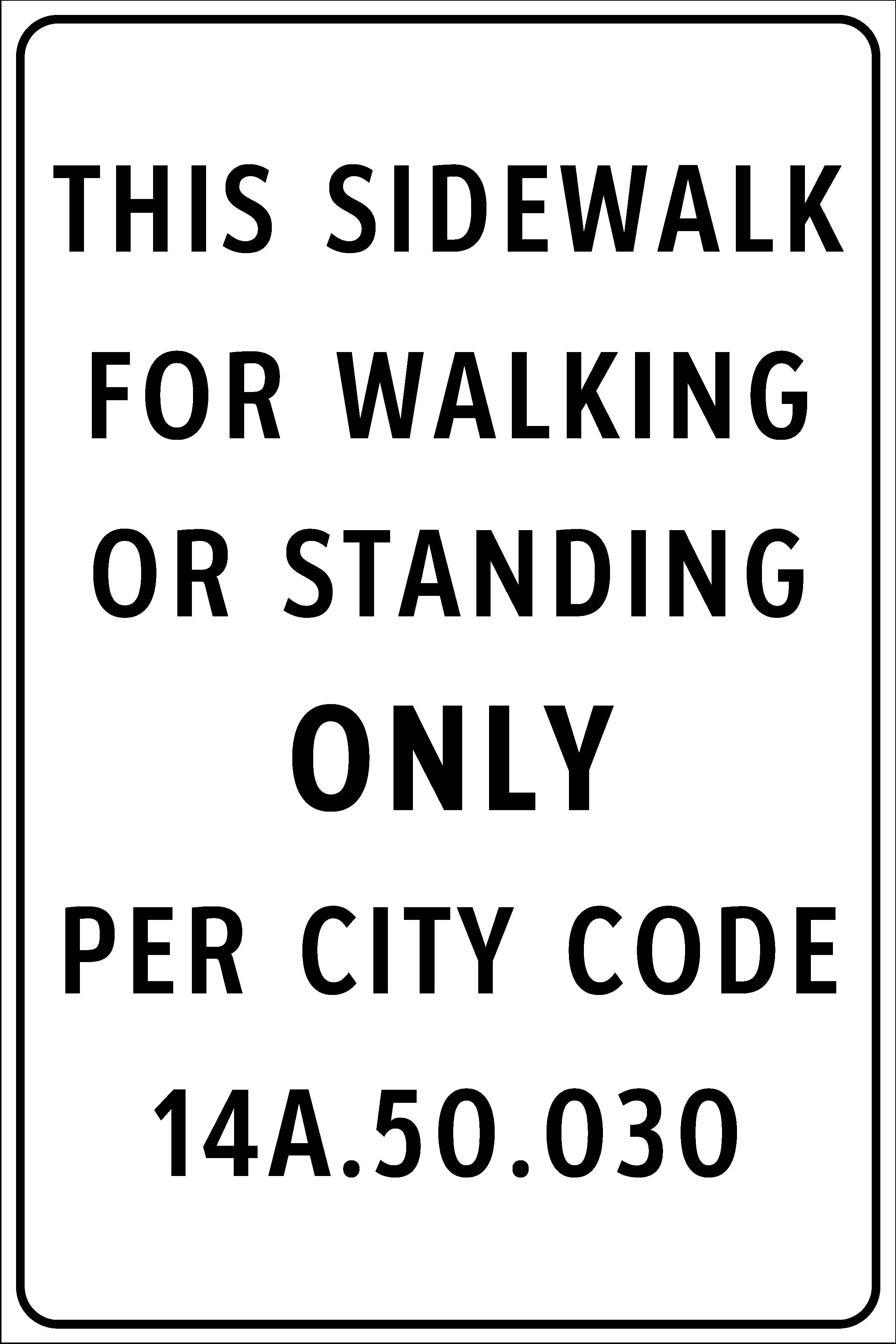 City Considers New Guidelines For Sidewalk Management