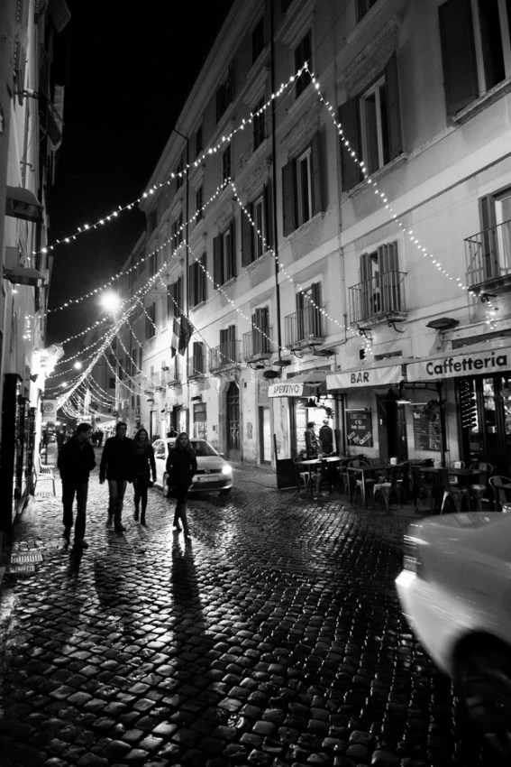 """Third Place, Tommies Abroad: Photo by Lisa Northenscold, Rome. Catholic Studies Fall 2013. """"Shadows of Rome."""""""