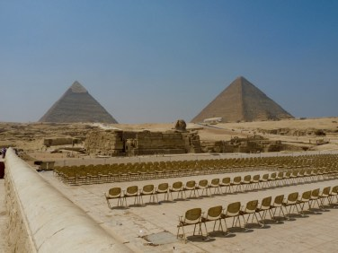 "Honorable mention, Global Classroom: Iyten Soud, Cairo, Egypt. ""Cultural Horizons of Egypt: This photo was taken on a solo trip to the pyramids and this historical nature of the view caught my eye. I had to snap a picture. As a native Egyptian myself, I wanted to 'study abroad' like a true Egyptian."""