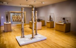 The Gallery, home to the American Museum of Asmat Art.