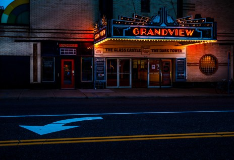 The Grandview Theater, one of many signature businesses in the St. Thomas area.
