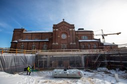 The Iverson Center for Faith is taking shape. Mark Brown/University of St. Thomas