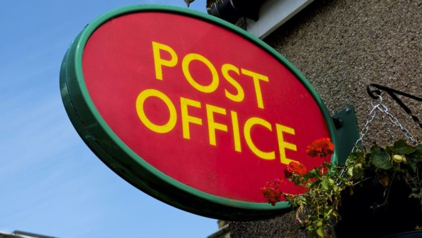 Post Office: A form does not have to be completed if a letter, postcard or document is being sent to an EU country.