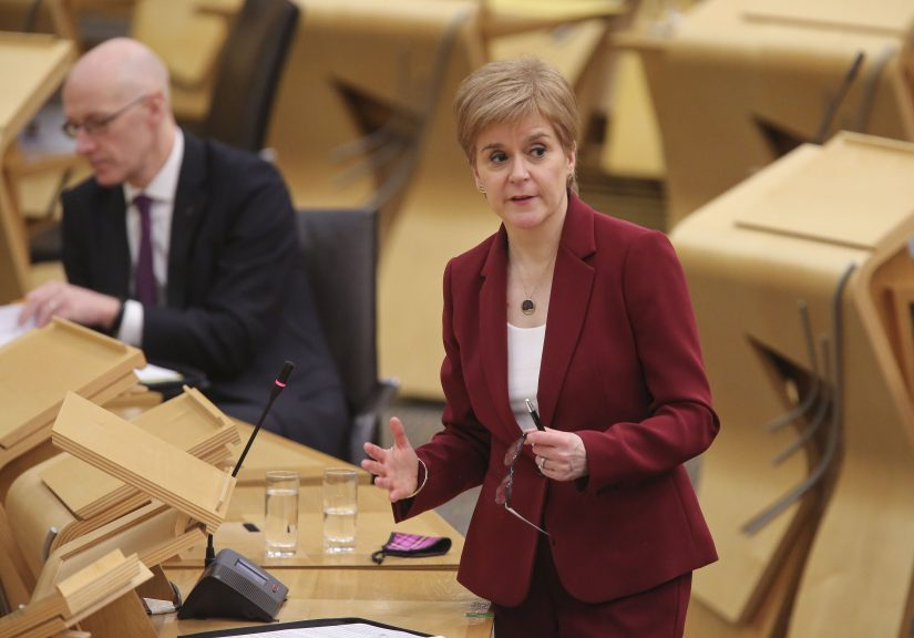 Sturgeon: First Minister speaks out over trans issue.