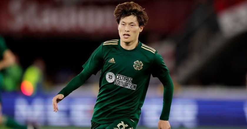 Japan international and Celtic player Kyogo Furuhashi