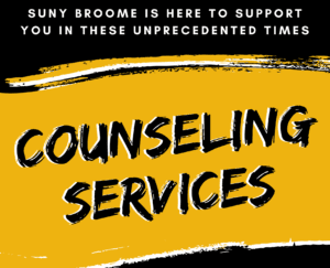 Counseling Services is here to support you.