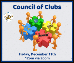 Council Of Clubs Friday December 11, 2020 12:00 pm via zoom