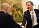 UT President Joe DiPietro and Tennessee Gov. Bill Haslam