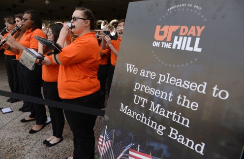 The UT Martin Marching Band