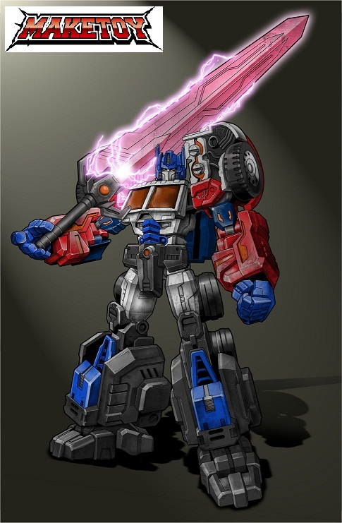Maketoy Website Live Laser Optimus Prime Upgrade