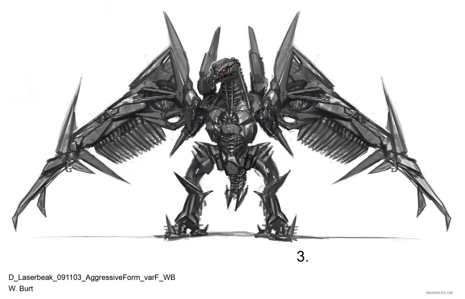 Massive Black Transformers Dark Of The Moon Concept Art