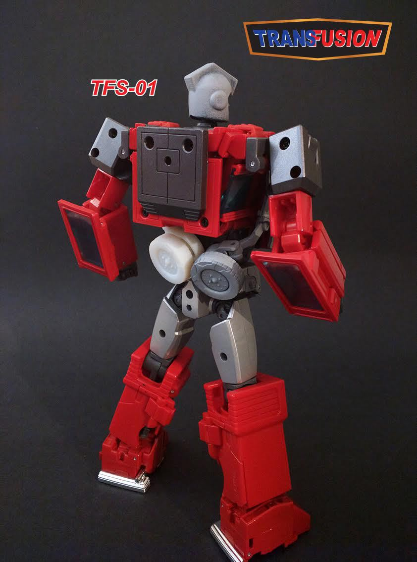 TransFusion TFS 01 Masterpiece Ironhide Upgrade Kit