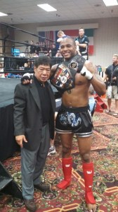 Troy Jones, the new Champ!