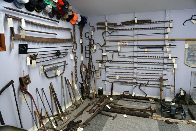 Drills, Picks, and saws