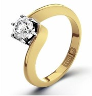 Jaqueline Jossa style Twist Engagement Ring