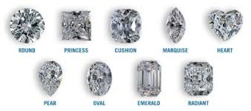 Diamond shapes and cuts
