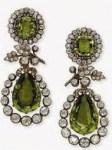 Archduchess Isabellas peridot earrings