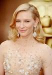 Cate Blanchett wearing opal earrings at the Oscars
