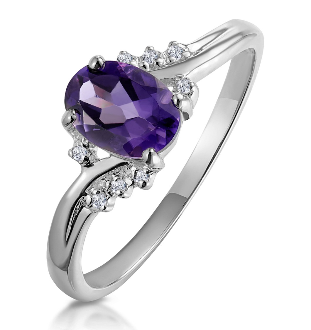 Amethyst - Meaning of Gem Colour in Engagement Rings