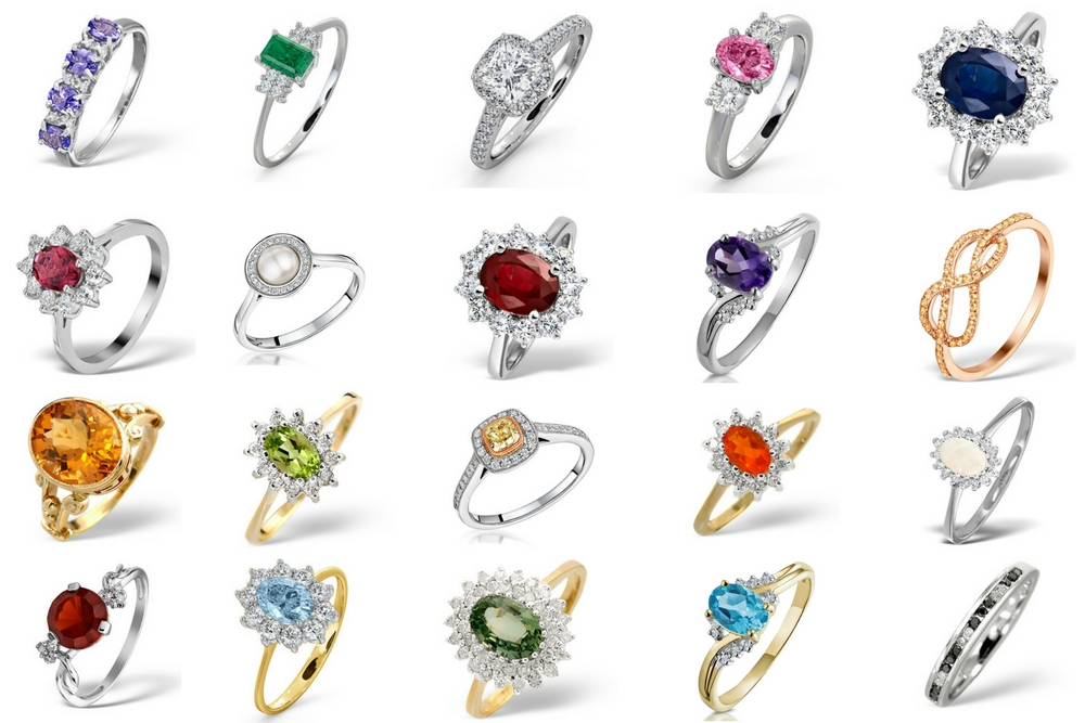 Meaning of Gem Colour in Engagement Rings