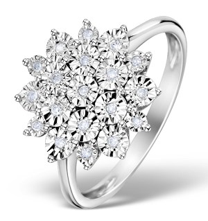 Diamond Cluster Ring £309