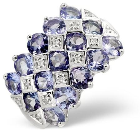 Beautiful Tanzanite Ring - click to view details
