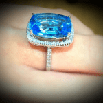 Gorgeous Topaz Ring for a November Birthday ONLY £519