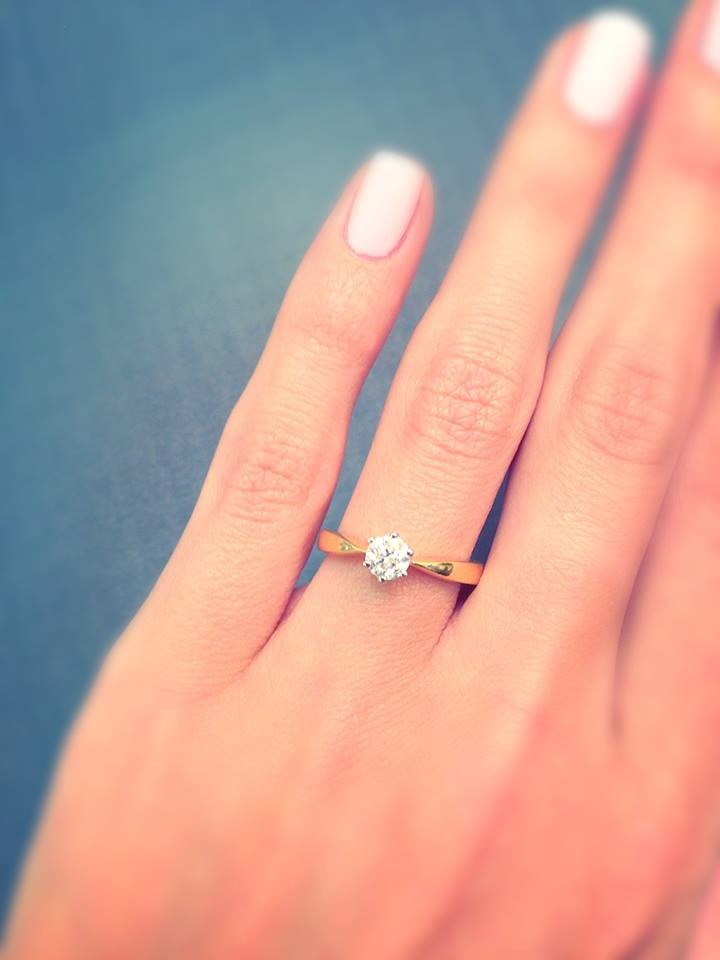 Chloe Certified Solitaire Rings (various carat weights)