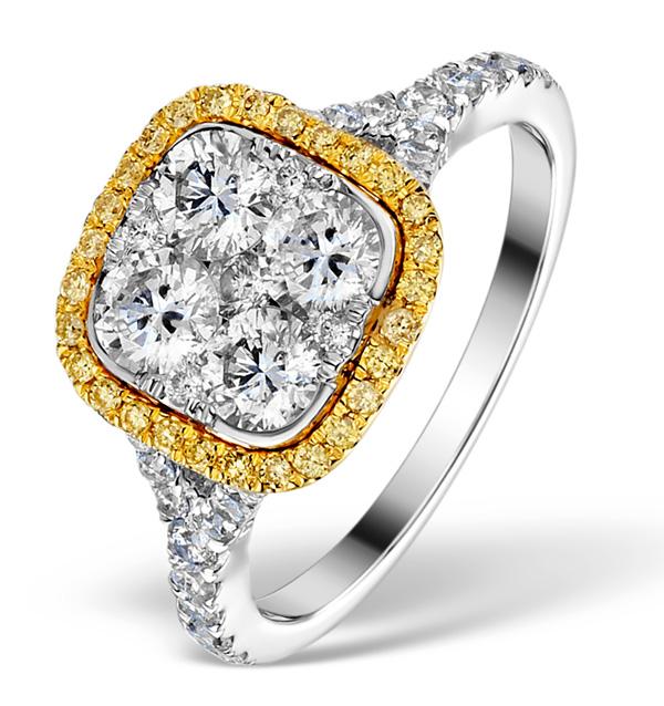 08a Enagement ring Iggy Azalea or Scarlett Byrne style yellow diamond