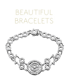 Beautiful diamond bracelets perfect gifts for Valentine's Day from The Diamond Store UK
