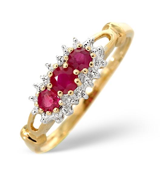 Ruby ring birthstone July