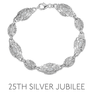 25th Anniversary Silver Jubilee - Wedding Anniversary Gemstone Jewellery
