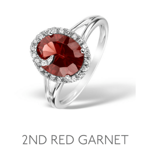 2nd Anniversary Gem Garnet – Wedding Anniversary Gemstone Jewellery