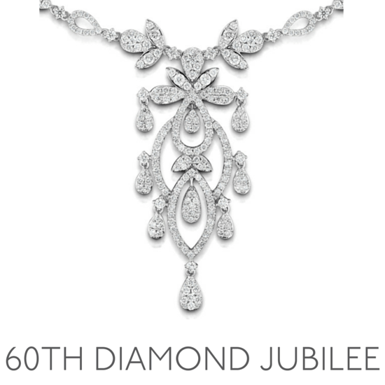 60th Anniversary Gem Diamond Jubilee - Wedding Anniversary Gemstone Jewellery