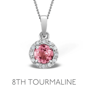 8th Anniversary Tourmaline - Wedding Anniversary Gemstone Jewellery