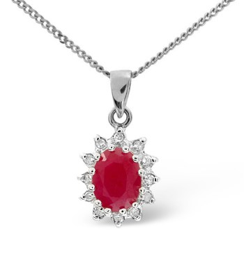 best necklaces ruby and diamonds