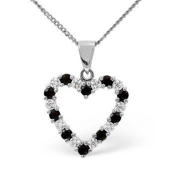 best necklaces blue sapphire diamonds