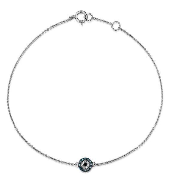 Halloween jewellery - black diamond bracelet