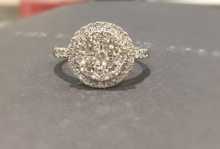 Winter Jewellery Inspiration - vintage diamond rings