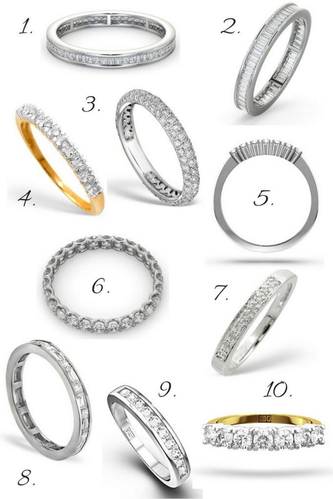10 Best Diamond Eternity Rings for Christmas