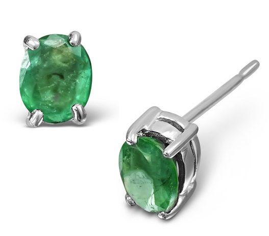 Best Gifts for Mum - Emerald earrings
