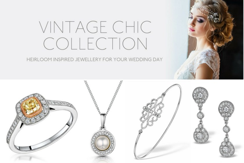 Bridal jewellery collections UK - Vintage Chic