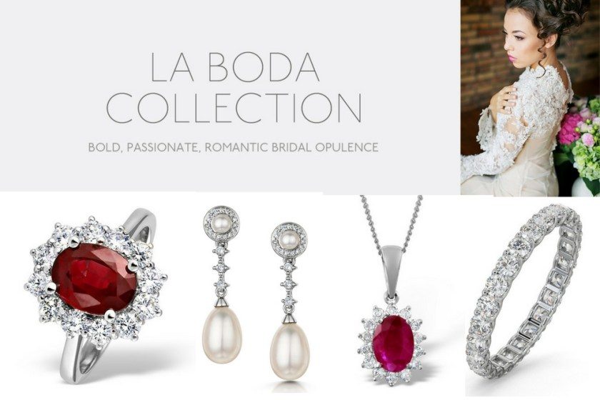 Bridal jewellery collections UK - La Boda Bride
