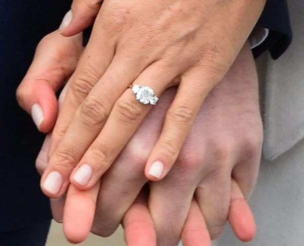 Meghan Markle engagement ring